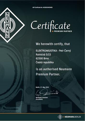 Autorizovaný prodejce NEUMANN